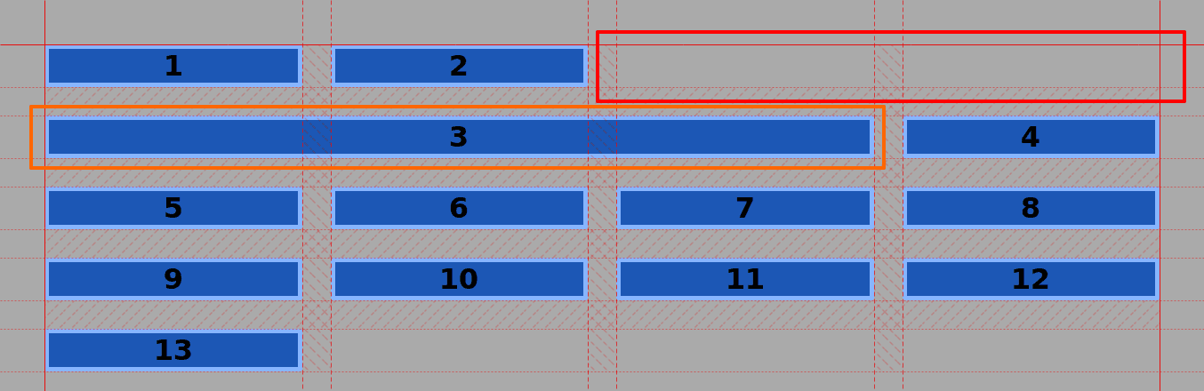 CSS Grid #7: How to Size Grid Items with the Span Keyword in