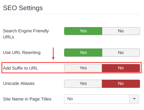 How to enable SEF and URL rewriting in Joomla 2.5.x