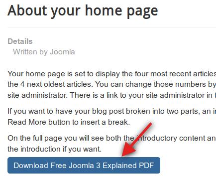Joomla 3.0 Tutorial Pdf
