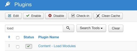 joomla loadposition plugin
