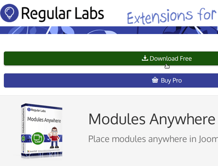 download modules anywhere