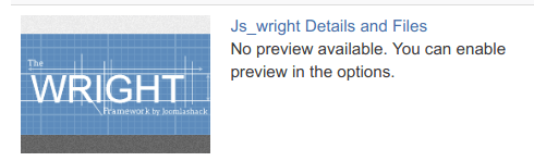 js wright details files