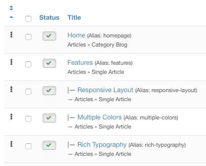 How to Set Up a Joomla Dropdown Menu - Joomlashack