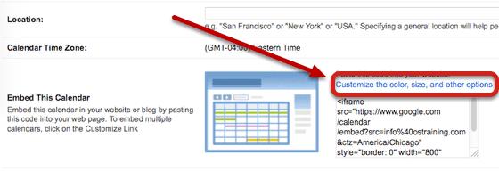 Easily Add a Google Calendar to Joomla - Joomlashack