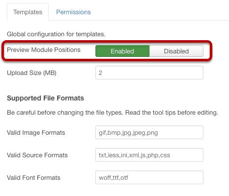 How to See Module Positions in Joomla 3 Templates - Joomlashack