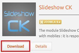 download plugin slideshow ck params - joomla 25