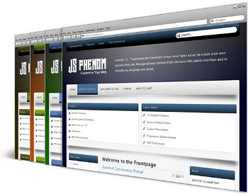 Phenom Joomla Template