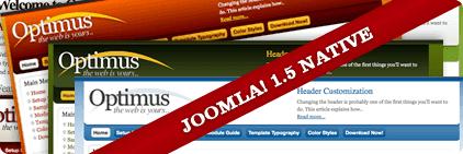 Optimus Joomla Template