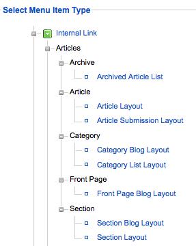 joomla article layout options from the menu joomlashack