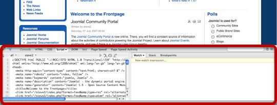Using Firebug to Edit Joomla Templates - Joomlashack