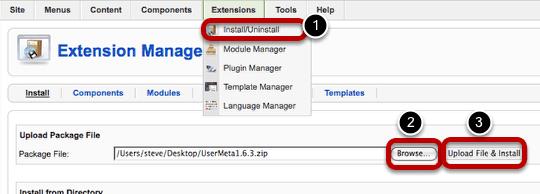 User Meta Plugin Extends Joomla's User Fields - Joomlashack