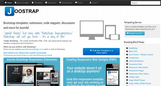 Responsive design and joomla templates joomlashack bootstrap bootstrap templates maxwellsz